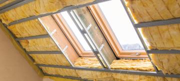 combles toit isolation